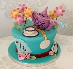 gâteau Alice au pays des merveilles Alice in Wonderland cake