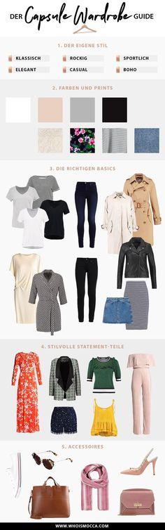 So stellt man sich eine Capsule Wardrobe zusammen, Wardrobe Essentials, Wardrobe Basics, Fashion Blog, Style Blog, Must Haves Kleiderschrank, Garderobe zusammenstellen, Modeblog, Outfit Blog, www.whoismocca.com