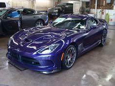 2015 Dodge Viper GT Stryker Purple