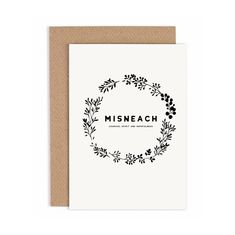 Sympathy Cards, Greeting Cards, Irish Language, Papers Co, Words Of Encouragement, Your Cards, Thinking Of You, Card Stock, Messages
