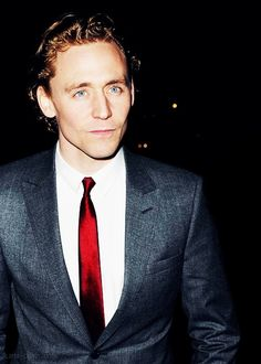 Tom Hiddleston... give me a minute then someone please pick me up off the floor!