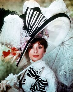 Audrey Hepburn in  <i>My Fair Lady, The Merry Widow</i>, and  <i>Belle Epoque</i>