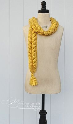 Rapunzel Infinity Scarf Crochet Pattern Free : Rapunzel Scarf Media Crochet Me Share The Knownledge