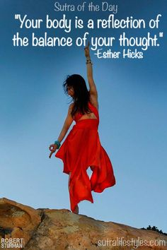 """""""Your body is a reflection of the balance of your thought.""""     -Esther Hicks  Click--> https://www.LawofAttractionSecrets.ca"""