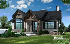 Small house plans for affordable ranch style house plans homes floor 6104 drummond house plans 15 lakhs house plan home designs affordable modern prefab homes terraceEst House Plans To. Craftsman Ranch, Modern Craftsman, Craftsman Style House Plans, Ranch House Plans, Craftsman Houses, Style At Home, Br House, Cottage House, Rustic House Plans