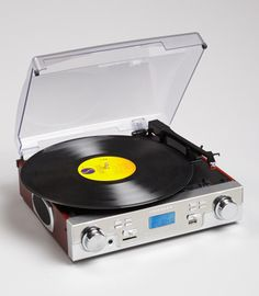I remember whole afternoons as a kid, stacking up the vinyl at home and that lovely velvety sound....