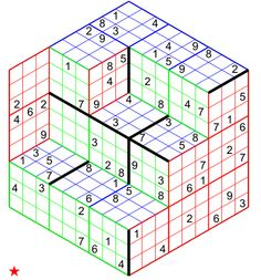 Sudoku 3 Dimensions 343 n 03423 Sudoku Puzzles, Number Puzzles, Printable Puzzles, Logic Puzzles, Puzzles For Kids, Physical Education Games, Health Education, Physical Activities, Dementia Activities