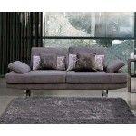 ESF Furniture - 1174 Fabric Sofa in Gray - 1174-S