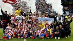 #MejoresImagenesDel2013   Atletico Madrid Campeón de la Copa del Rey 2013