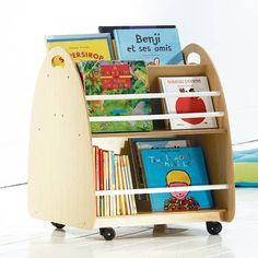 Bookshelves Kids, Bookcase, Craft Closet Organization, Deco Kids, Toy Rooms, Book Nooks, Kids Furniture, Girls Bedroom, Toy Chest