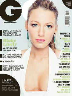 Blake Lively 'GQ' magazine cover Feb 2012