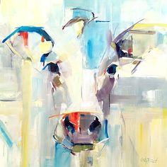 Paintings Abstract Animal Canvas Art Cow Oil Painting On Canvas For Wall Decor Artworks Modern Unframed printed oil painting Cow Painting, Oil Painting Abstract, Painting & Drawing, Abstract Animals, Cow Art, Galo, Art Moderne, Animal Paintings, Art Paintings