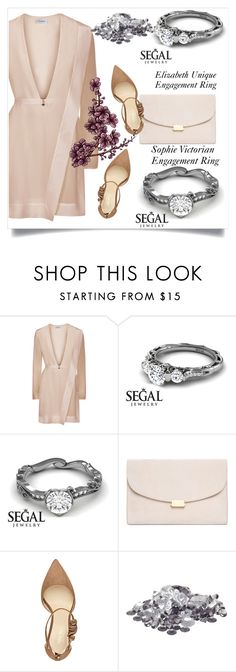 """""""SEGAL jewerly"""" by amra-mak ❤ liked on Polyvore featuring Mansur Gavriel, Nine West and segaljewerly"""