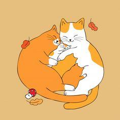 Los padres lindos de la historieta abrazan vector del gato del bebé. Cute Animal Memes, Cute Animal Videos, Cute Animal Pictures, Cat And Dog Drawing, Cute Cat Drawing, Love My Dog, Cute Easy Drawings, Cute Animal Drawings, Cat Vector