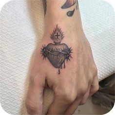 Sacred Heart tattoo More