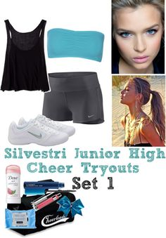 """""""SJHS 2013-2014 Cheer Tryouts"""" by zebraqueen on Polyvore"""