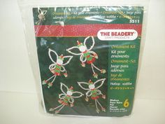 The Beadery Angel Ornament Kit Unopened by SweetLibertyStudio, $8.00