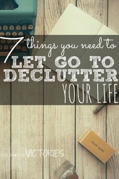 I didn't even know I was holding on to this life clutter. But learning how to declutter your life by letting go of these 7 things, will instantly lead to your happiness! Here's a peak of what you need to let go of: #4 TOXIC PEEPS.