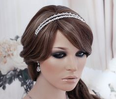 SALE Crystal Wedding Headpiece Hair Accessory by EleganceByKate