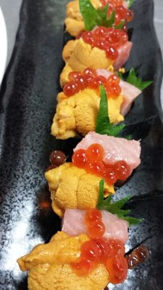 Premium Uni with Toro and Ikura
