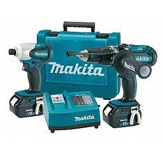 Makita LXT202 18v Combi 2 Piece Kit - £358.80