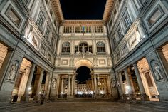 uffizi gallery, Florence - One of the oldest and most famous museums on earth.