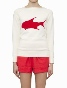 Fish Knit Jumper