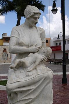 Mexico (Yucatan).  Betcha couldn't get this sculpture placed in a public place in a Red State city.