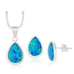 HWSTAR Women's Sterling Silver Created Opal Teardrop Jewe... https://www.amazon.com/dp/B01IDW6OGA/ref=cm_sw_r_pi_dp_x_o6p2xbZ8YP2BD
