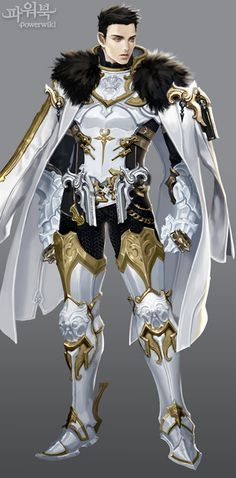 Sebastian - Hawke's Coronation; leave off the guns though.  He's bows and arrows all the way!