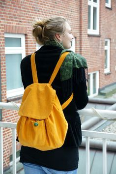 DIY Backpack Tutorial : *note - need to use google translator for this website into English.