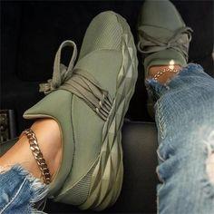 Moda Sneakers, Sneakers Mode, Summer Sneakers, Slip On Sneakers, Casual Sneakers, Casual Shoes, Burgundy Sneakers, Platform Sneakers, Shoes Sneakers