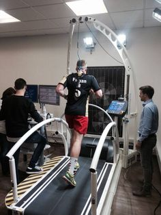 New Quark CPET installation for spiroergometry and movement analysis tests at German physiotherapy laboratory (Physiotherapie Vogt)