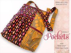 Autumn Boho Shoulder Bag - Free Tutorial