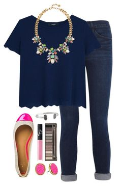 #summer #outfits / Blue Oversize Tee + Denim