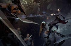 Dishonored 2 Gameinformer cover Emily Kaldwin Variant by Sergey Kolesov Arkane Studios, Dishonored 2, Game Concept, Concept Art, Sergey Kolesov, Emily Kaldwin, Illustrations, Character Illustration, Digital Illustration