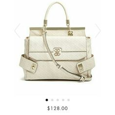NWT Guess satchel NWT Authentic Guess satchel. Color: nude. Great price! Guess Bags Satchels