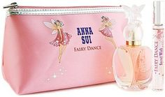 Anna Sui FAIRY DANCE GIFT SET (50ML EDT+ ROLLERBALL + POUCH) Gift Set