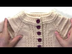 SAQUITO BEIGE 3 AÑOS PUNTO OCHOS CALADOS AGUJA CIRCULAR TOP DOWN part 1 - YouTube Baby Knitting Patterns, Knitting For Kids, Crochet Baby, New Baby Products, Men Sweater, Instagram, Facebook, Sweaters, Amor Youtube