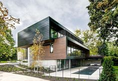 Modern Riverfront Residence by dSPACE Studio