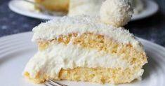 Pastel de coco y leche condensada sin harina y con sólo 4 ingredientes