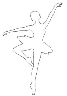 Ballerina Kunst, Ballerina Sketch, Diy And Crafts, Crafts For Kids, Arts And Crafts, Christmas Crafts, Christmas Decorations, Christmas Ornaments, Ballet Crafts