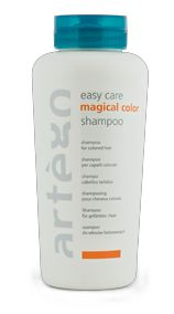 Artego Magical Color Shampoo for color treated hair- MY FAVORITE brand of shampoo. It's Italian and imported and AMAZING. They discontinued their previous version which I was in love with because it smelled like cupcakes. This one doesn't smell the same but works well and color lasts forever. $30.00 per liter
