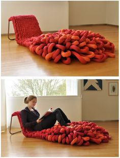 Loop Chair by Sophie de Vocht available at Property Furniture. http://propertyfurniture.com/collection/seating/loop-lounger/