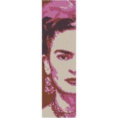 Frida - beading cuff bracelet pattern for peyote or loom ( Buy Any 2 Patterns - 3rd. FREE ) - pdf. $4.00, via Etsy.