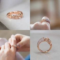 Gold Ring Designs, Gold Earrings Designs, Gold Rings Jewelry, Jewelery, Round Diamond Engagement Rings, Antique Rings, Ring Earrings, Fashion Rings, Beautiful Rings