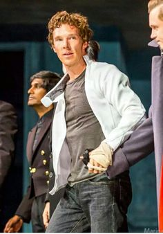 See Benedict Cumberbatch live on stage. Completed on September 4, 2015--Hamlet at the Barbican Theatre in London.