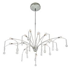 CH146 - Chandelier Egyptian crystal 12x10W Ceiling, Chandelier, Decor, Home Decor, Ceiling Lights