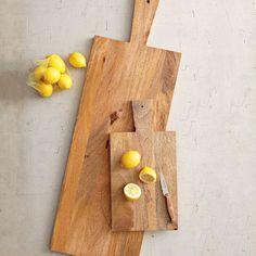 raw wood cutting boards