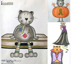 "**Cozy Coloring Contest Age Group 11 - 18** Please vote on your favorite Cozy Cat Coloring Contest entry page by ""liking"" the image. This is age group 11 - 18 and voting will be open until Friday October 30th. Thank you!"